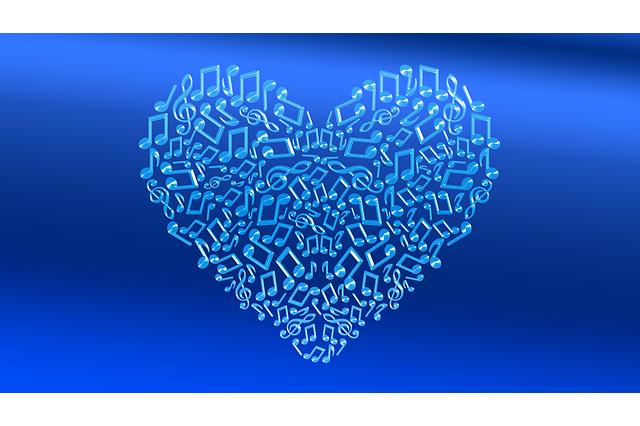 Klein geluk.. Muziek..