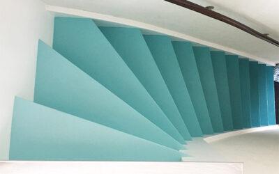 Stap voor stap op de trap..